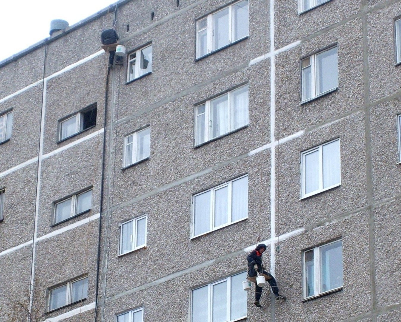 Заделка межпанельных швов в панельных домах в красноярске