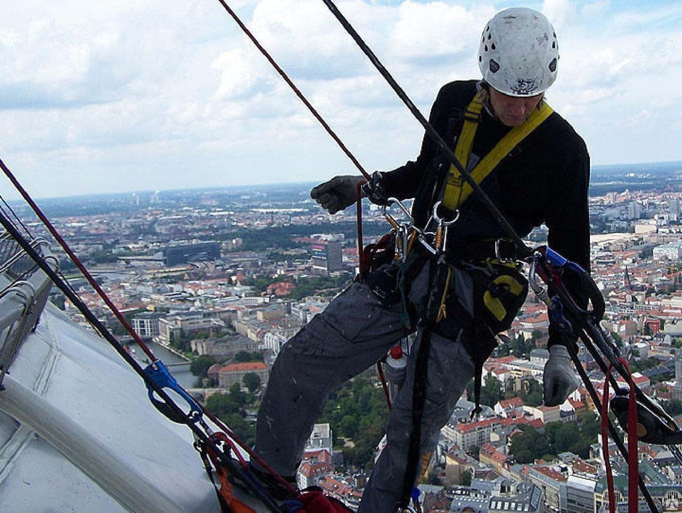 Ищу работу промышленный альпинист москва