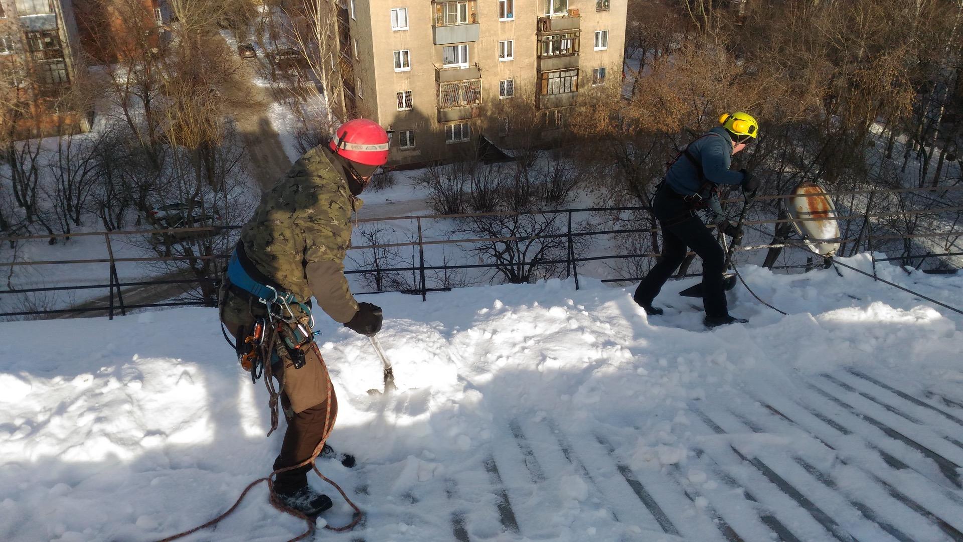 Насадка на штиль для уборки снега