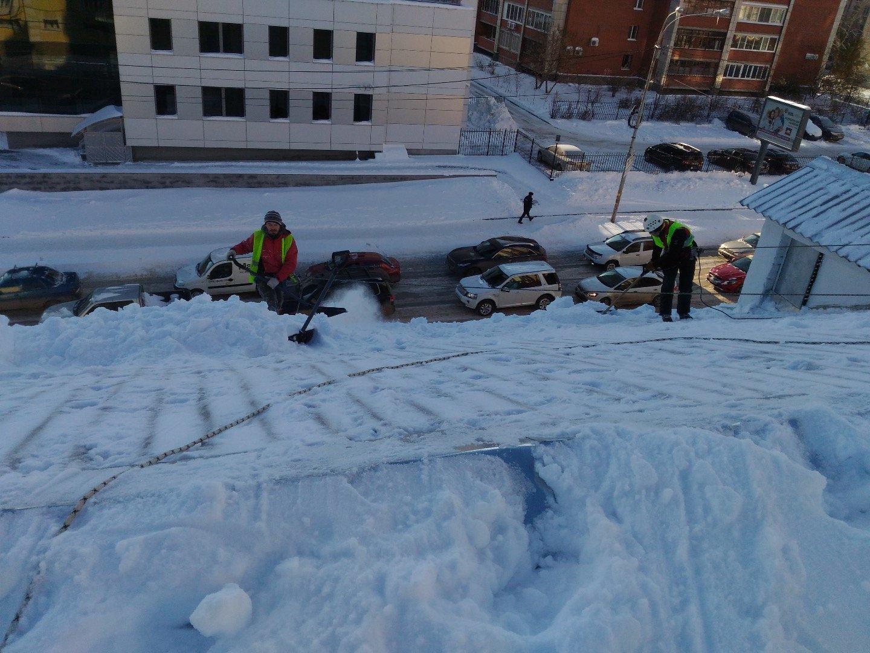 Отвал на машину для уборки снега