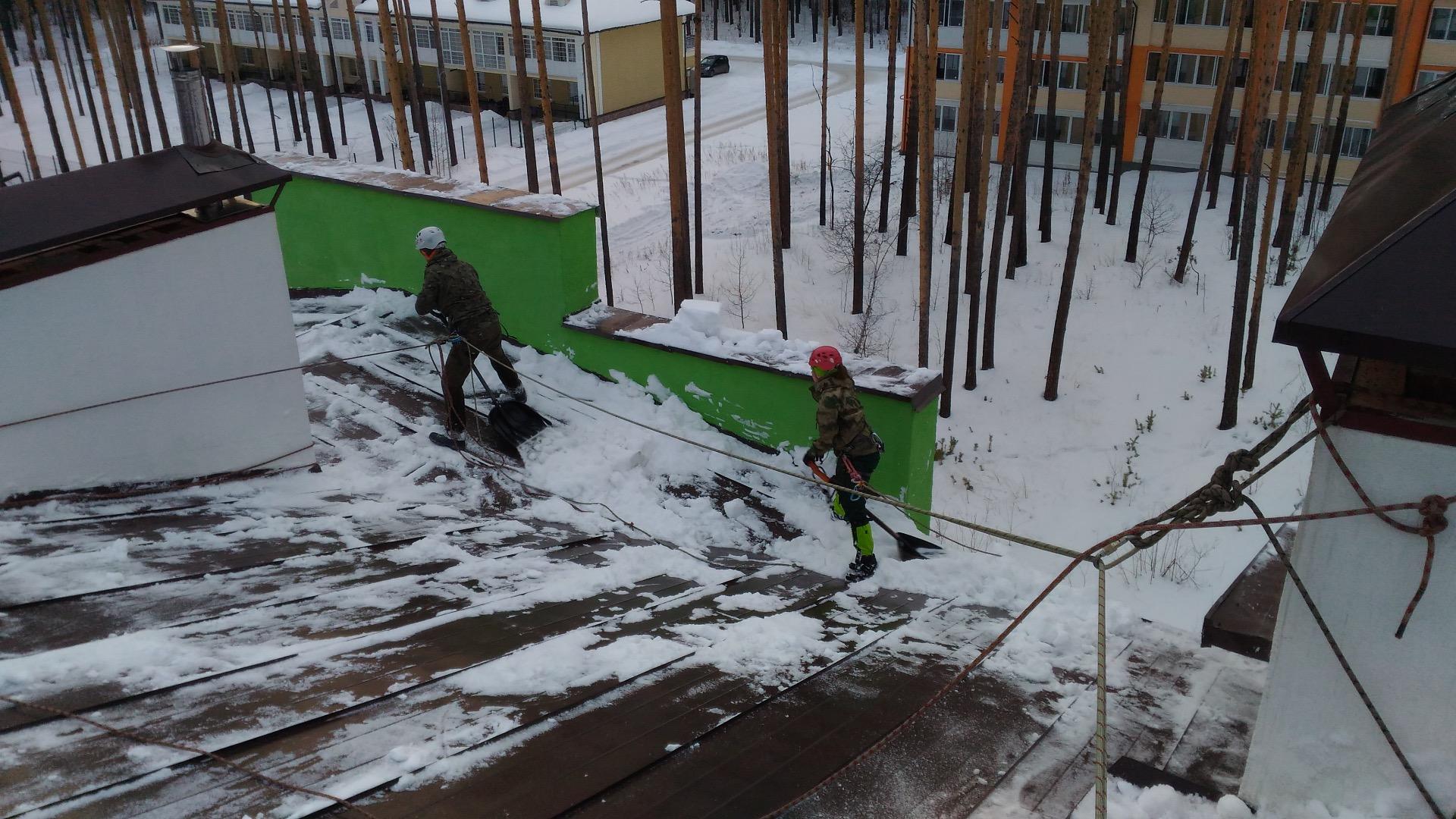 Очистка снега с крыш приказ